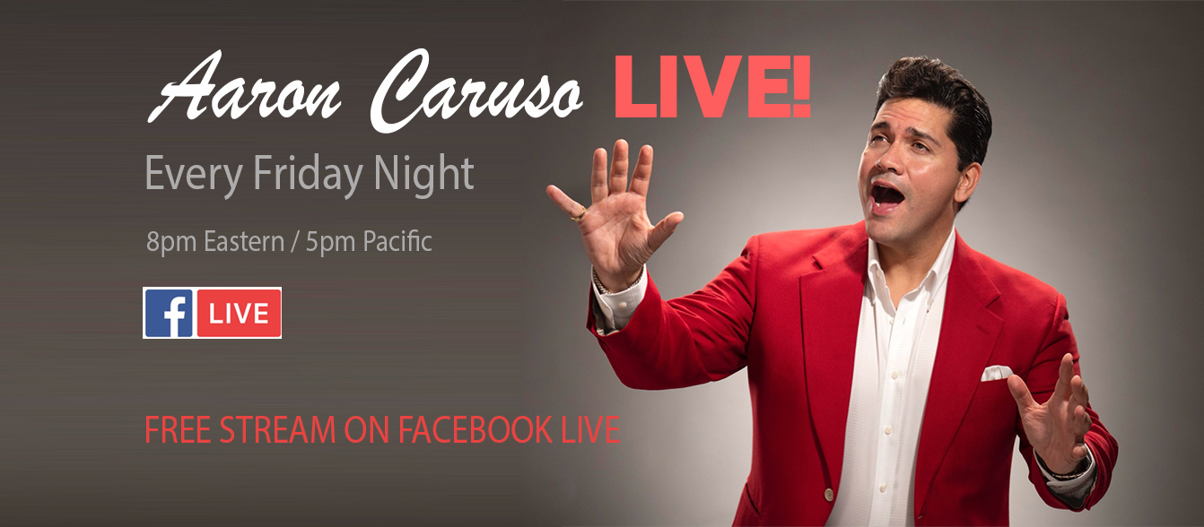Aaron Caruso LIVE!